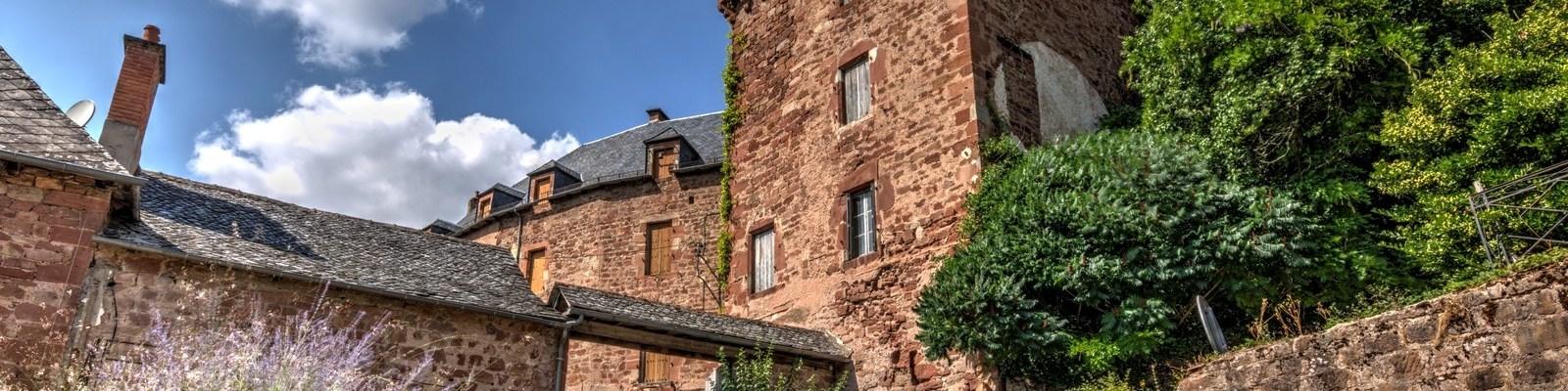 Villecomtal - Le château