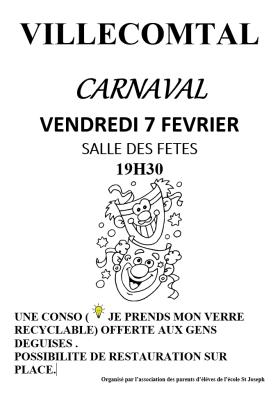 Carnaval de l'école 2020