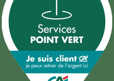 L'épicerie Laurent de Villecomtal est un point vert du Crédit Agricole.