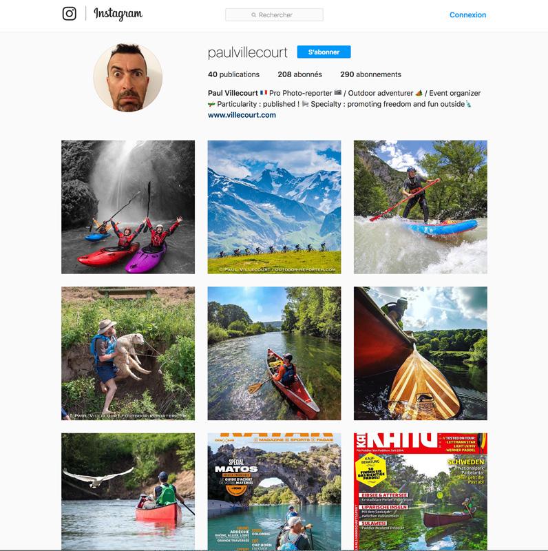 Instagram : la petite page qui monte…