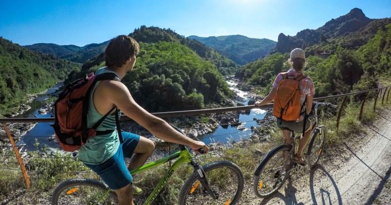 Mission vélo pour l'Ardèche Buissonnière