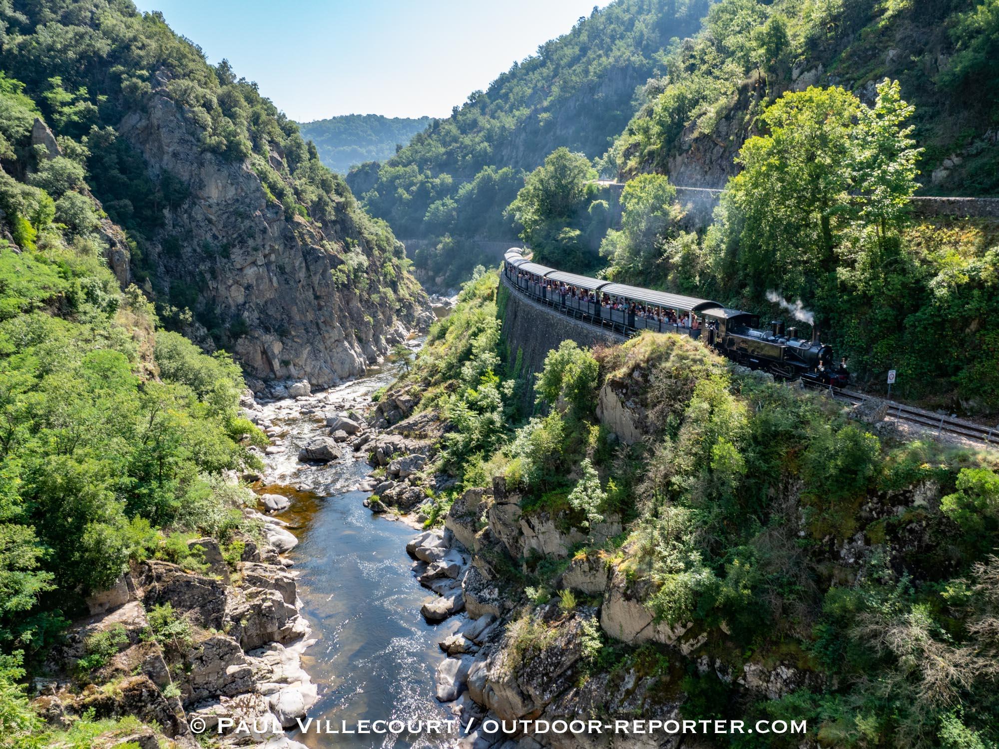 """Mission photos """"Mastrou / train de l'Ardèche"""""""