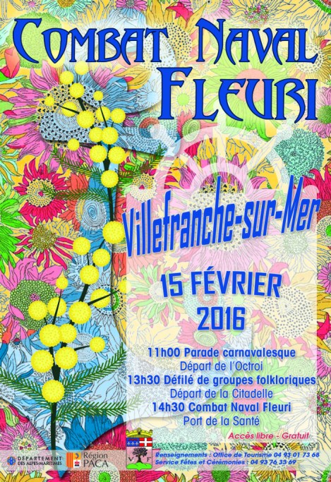 Battle of the Flowers poster 2016