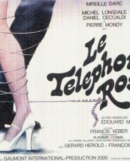 affiche film telephone rose