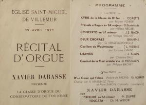récital d'orgues villemur