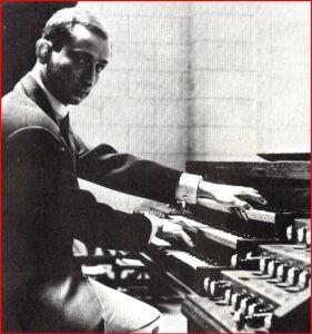 xavier darasse à l'orgue