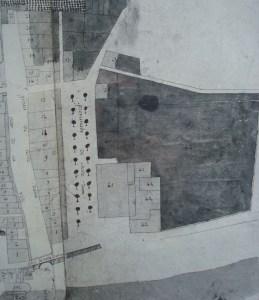plan de 1779 promenade