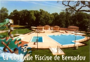 la nouvelle piscine de bernadou
