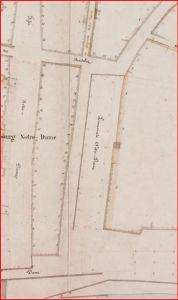 promenade plan de 1842