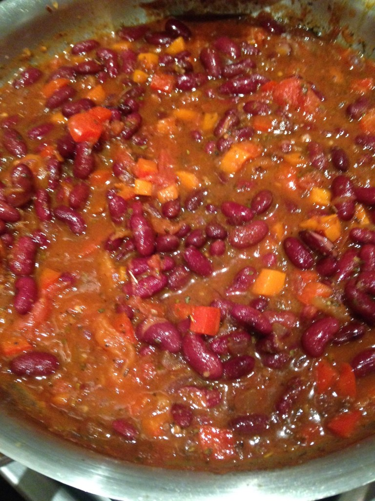 making chilli