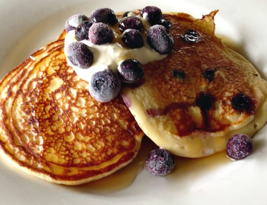 Greek yoghurt pancakes