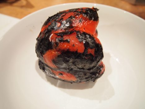 blackened capsicum