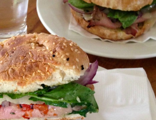 roast beef toasted ciabatta