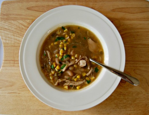 white bean chicken chilli soup
