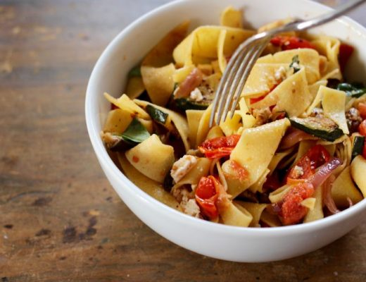 roast vegetable pasta