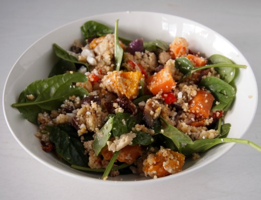 roasted vegetable and couscous salad