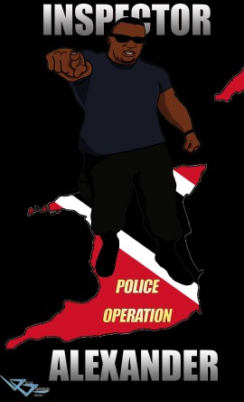 inspector 2 poster black