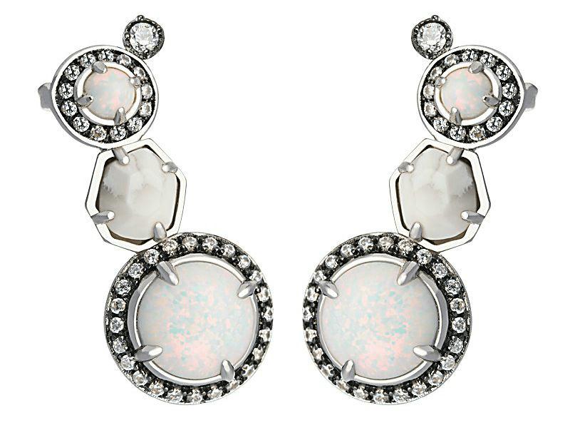 KENDRA caralyn-earring-rhodium-stargaze