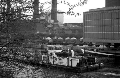 Westhafen und Kraftwerk Moabit