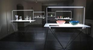 """šiuolaikinio čekų stiklo ir porceliano dizaino parodą """"Dizaino briliantai"""""""