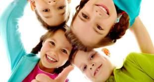 laimingi vaikai