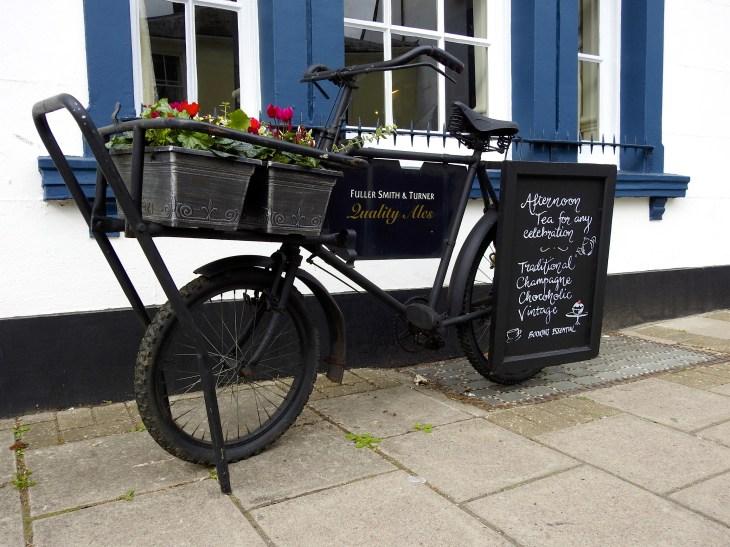 Polkupyörä Arundelissa