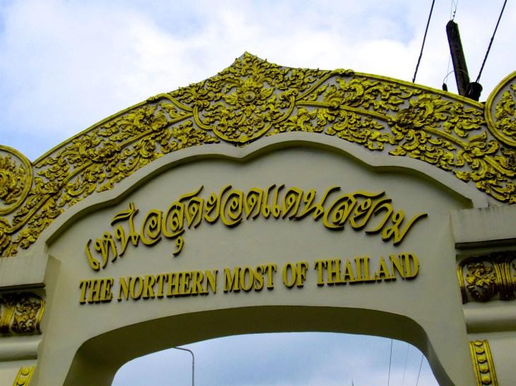 Thaimaan pohjoisin paikka