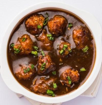 Chicken Manchurian recipe, chicken manchurain indian style recipe, chicken manchurain recipe with step by step pictures