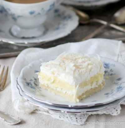 Cream Layer Dessert, easy dessert with fresh cream, dessert with biscuit