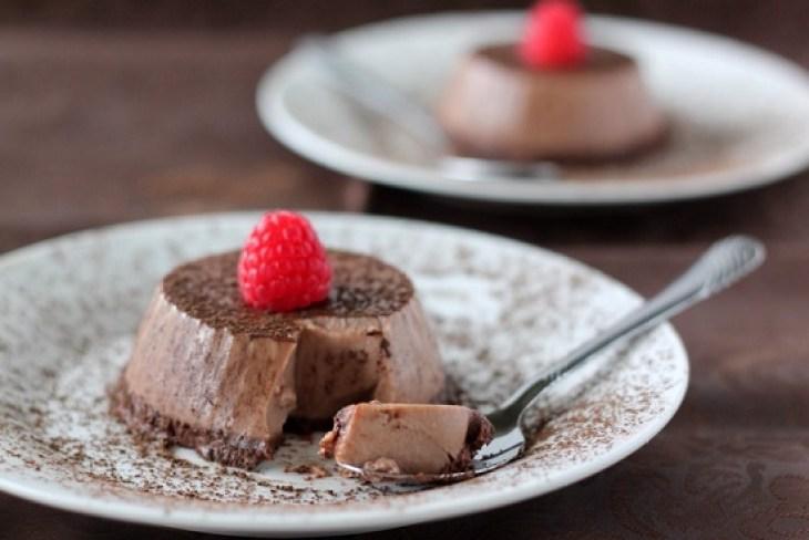 Chocolate Pannacotta