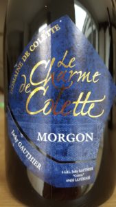 """Etiquette du Morgon """"Le Charme de Colette"""" - Domaine de Colette"""