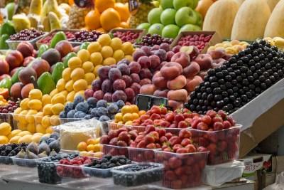 Fruits frais sur un marché