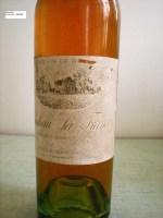 Vieux liquoreux à la robe ambrée
