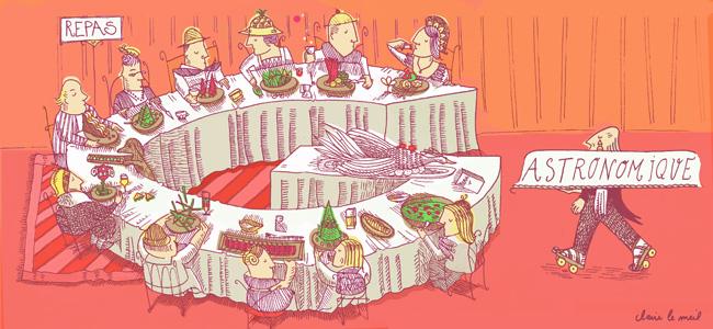 illustration_Gastronomie