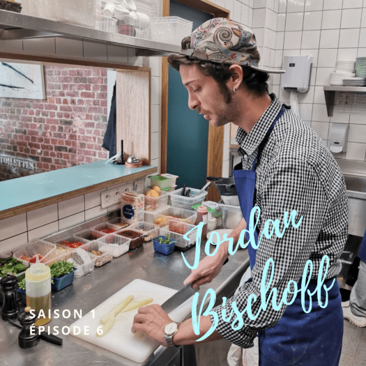 Interview Jordan Bischoff pour Vinaigrette Podcast