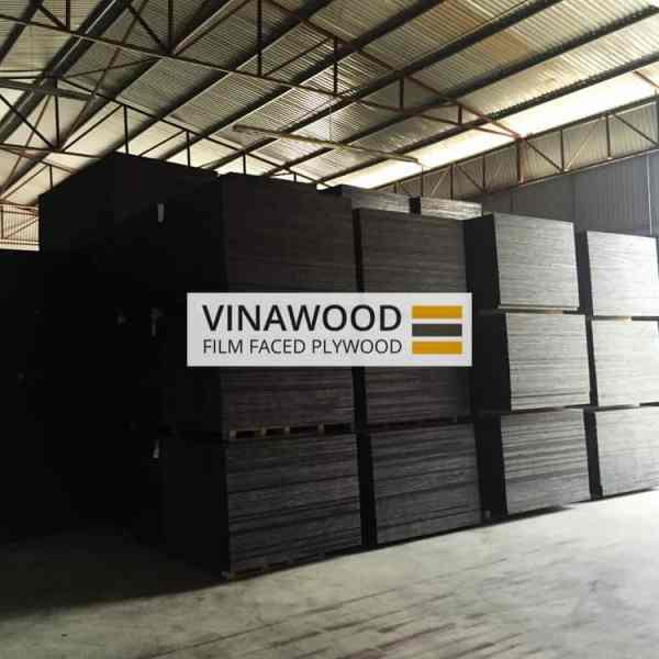 Cốp pha phủ phim VINAWOOD - Nhà máy