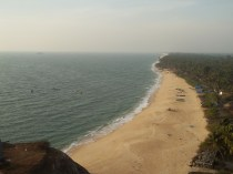 View from Lighthouse at Kapu, Udupi