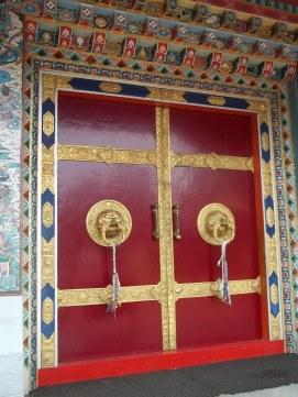 The doors at Nyingmapa