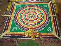 A Rangoli