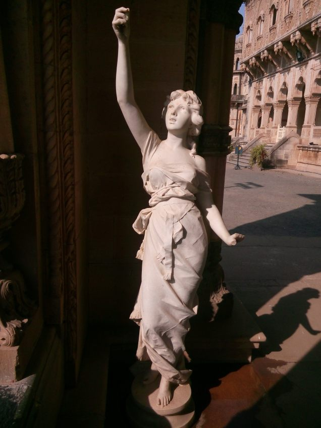 A Statue sculpted by Italian Fellici