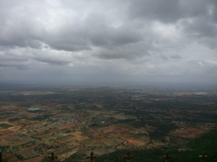 View from Nandi Hill, Bangalore
