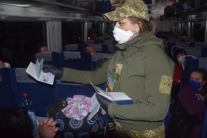 Спецпотягом з Польщі повернулося 13 вінничан (Фото)