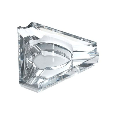 Triangle Crystal Cigar Ashtray