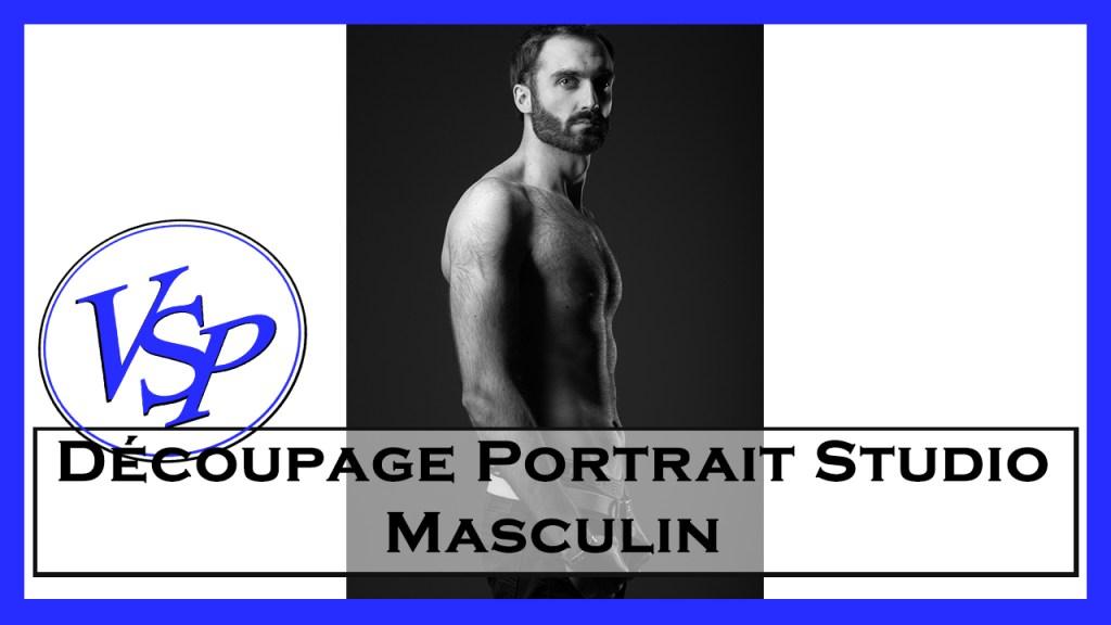 Découpage Portrait Studio Masculin