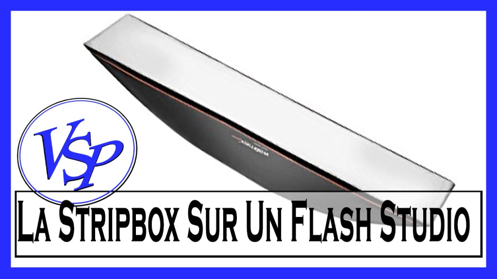 La Stripbox Sur Un Flash Studio Materiel Photo Pourquoi Et Quand