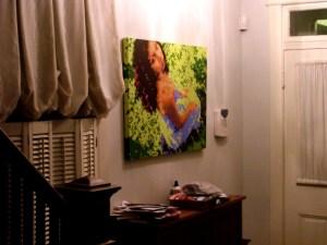 Claudia (summer) - on display
