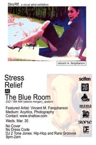 Stress Relief Flyer