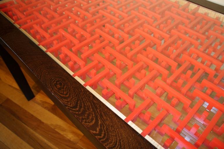 Wenge tabletop