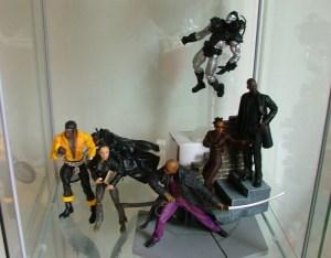 Luke Cage, Blade, Kendra from Buffy, Morpheus, Niobe, War Machine, Shaft