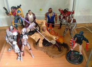 Steel2, Steel3, Bishop, Obama as jedi, Mace Windu, Mister-T, Sentinel, Cyborg, Patriot